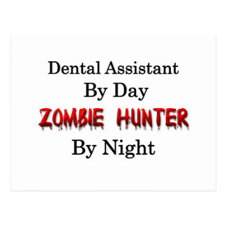 Dental Assistant/Zombie Hunter Postcard