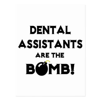 Dental Assistants Are The Bomb! Postcards