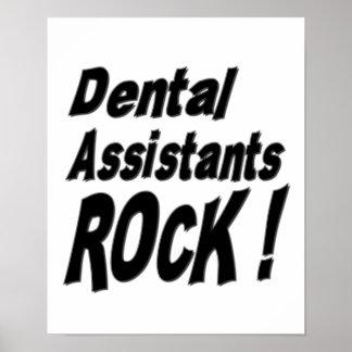 Dental Assistants Rock! Poster Print