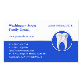 Dental Business Card w Appointment