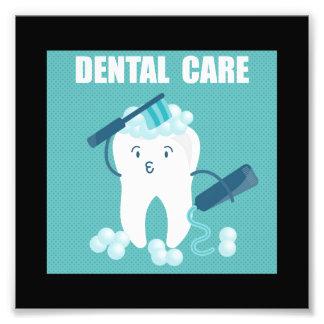Dental Care Photo Print