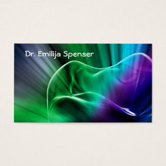 Dental Clinic Tooth Fragment Business Card