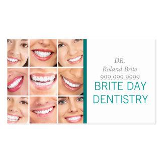 Dental Dentist Dentistry Doctor Teeth Smile Pack Of Standard Business Cards