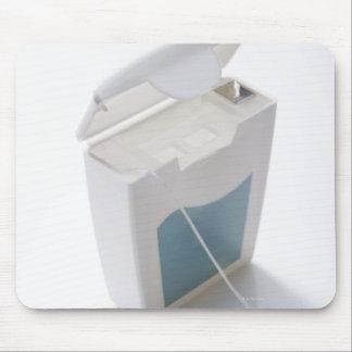 Dental floss mouse mat