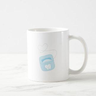 Dental Floss Coffee Mugs
