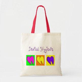 Dental Hygienist  Adorable Hearts Design Tote Bag
