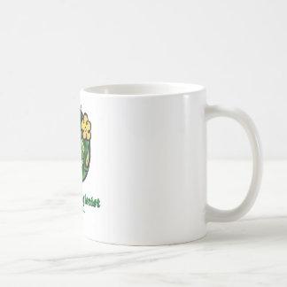 Dental Hygienist Blooms 1 Basic White Mug
