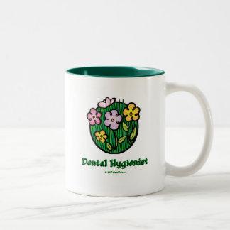 Dental Hygienist Blooms 1 Mugs