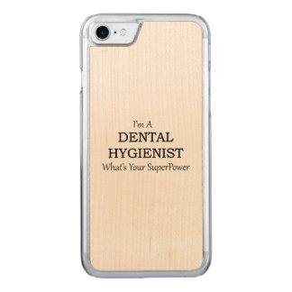 DENTAL HYGIENIST CARVED iPhone 7 CASE