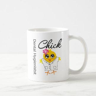 Dental Hygienist Chick Basic White Mug