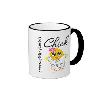 Dental Hygienist Chick Ringer Mug