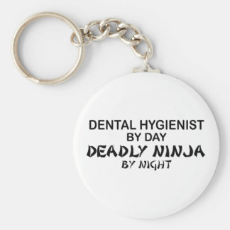 Dental Hygienist Deadly Ninja Key Ring