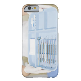 Dental hygienist  holding tray of dental barely there iPhone 6 case