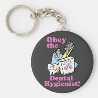 Dental Hygienist Key Ring