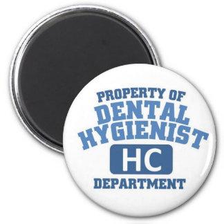 Dental Hygienist Refrigerator Magnet