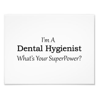 Dental Hygienist Photographic Print