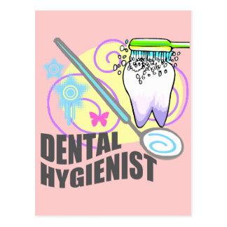 Dental Hygienist Postcard