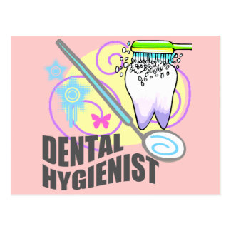 Dental Hygienist Postcard