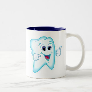 Dental Hygienist Two-Tone Coffee Mug