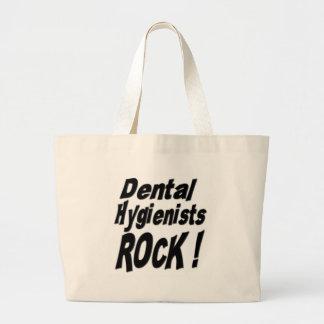 Dental Hygienists Rock! Tote Bag