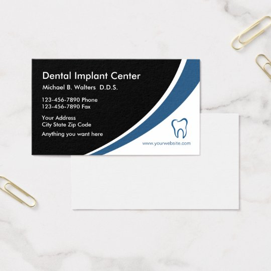 Dental Implants Medical Business Profile Cards