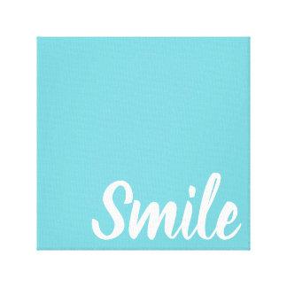 Dental Office Artwork Art Smile Dentist Canvas Print