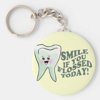 Dental Professionals Basic Round Button Key Ring
