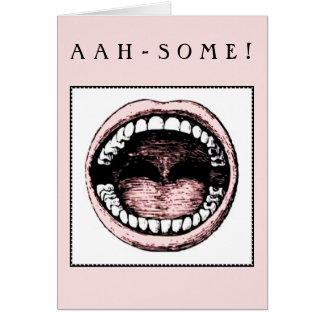 Dental School Grad Card