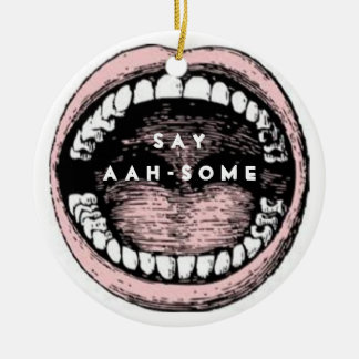 Dental School Graduation Christmas Ornament
