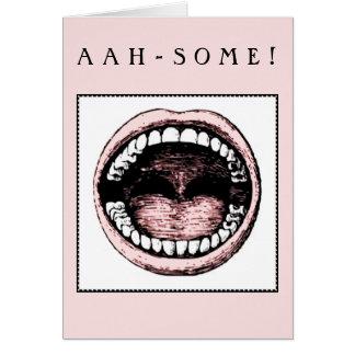 dental school graduation congratulations greeting card