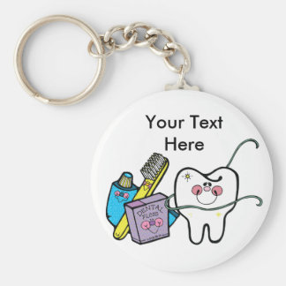 Dental Stuff for Dentist Day March 6th Key Ring