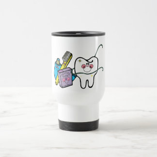 Dental Stuff for Dentist Day March 6th Travel Mug