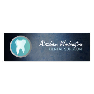 Dental Surgeon Skinny Business Cards