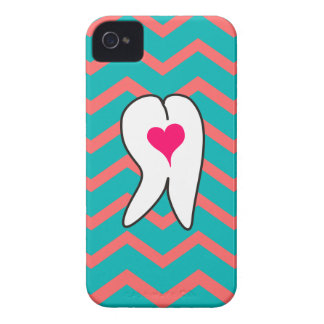 Dental Tooth and Chevron Design Case-Mate iPhone 4 Case