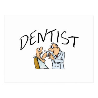 Dentist 2 postcard