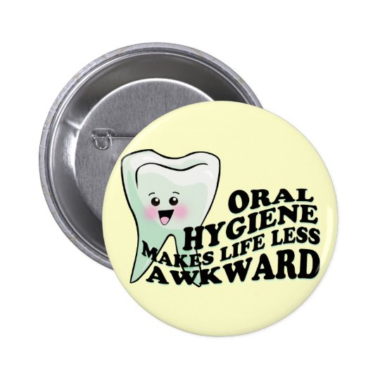 Dentist and Dental Hygienist Gifts 6 Cm Round
