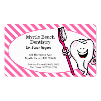 Dentist Business and Appointment Card Pack Of Standard Business Cards