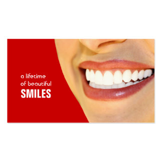 Dentist Business Cards- Color changeable Pack Of Standard Business Cards