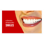 Dentist Business Cards- Colour changeable