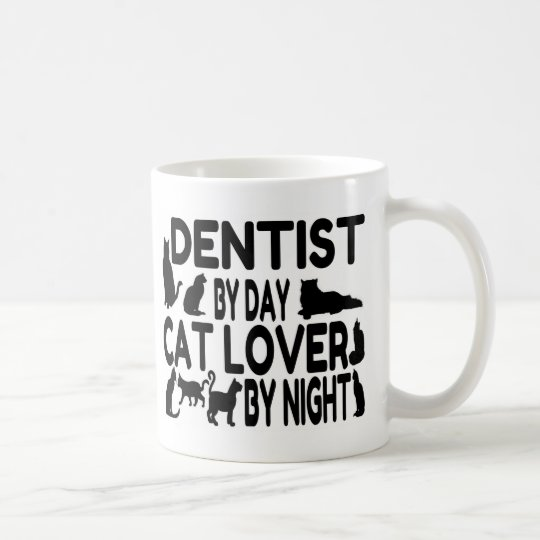Dentist Cat Lover Coffee Mug