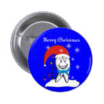 Dentist Christmas Cards and Gifts Pinback Button