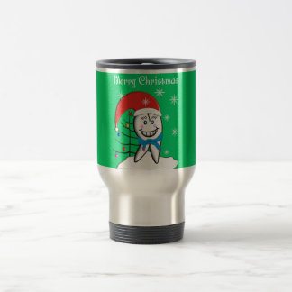 Dentist Christmas Cards and Gifts Travel Mug