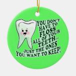 Dentist Christmas Ornament