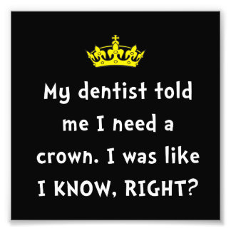 Dentist Crown Photograph