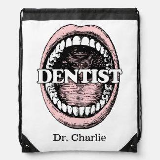 Dentist custom name backpack