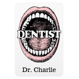 Dentist custom name magnet