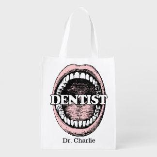 Dentist custom name reusable bag