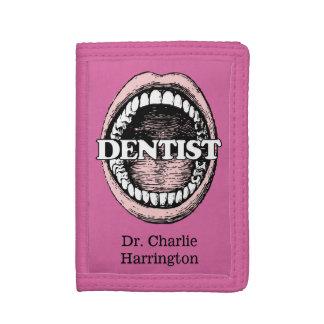 Dentist custom name wallets