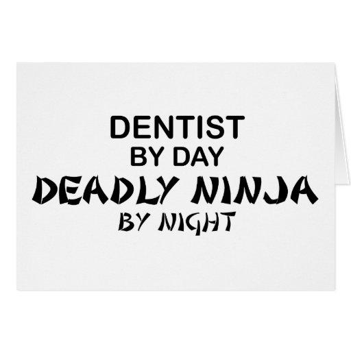 Dentist Deadly Ninja by Night Cards