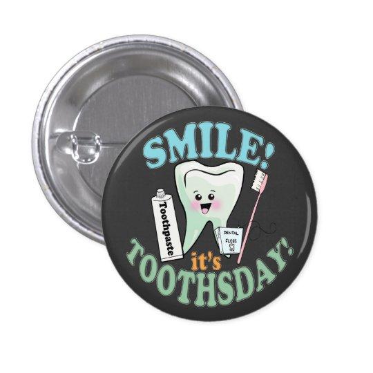 Dentist Dental Hygienist 3 Cm Round Badge